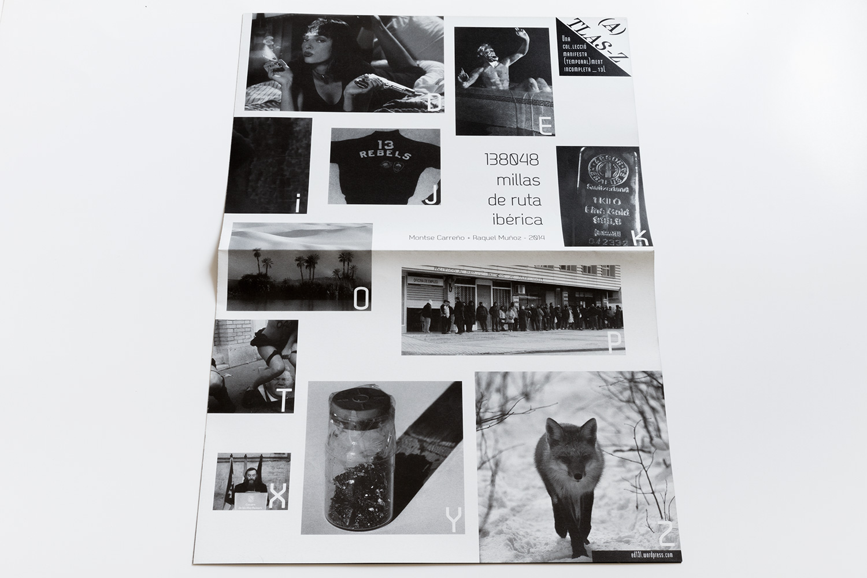 (A)TLAS-Z libro de artista  Raquel Muñoz - Montse Carreño