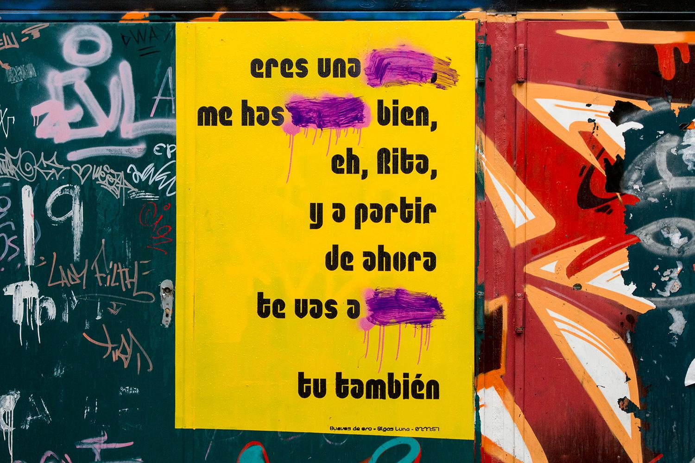 Esto está pasando porque tú quieres  Intervenciones en Zaragoza  Raquel Muñoz - Montse Carreño