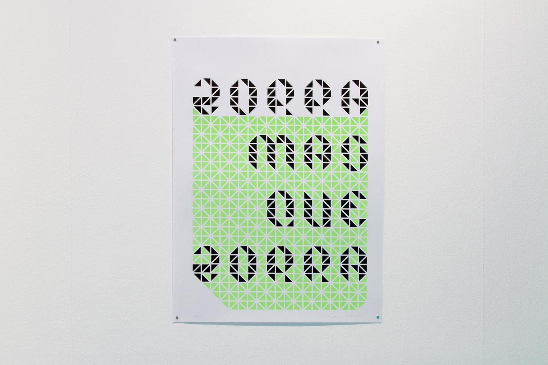 Esto está pasando porque tú quieres  Edición de pósters  Raquel Muñoz - Montse Carreño