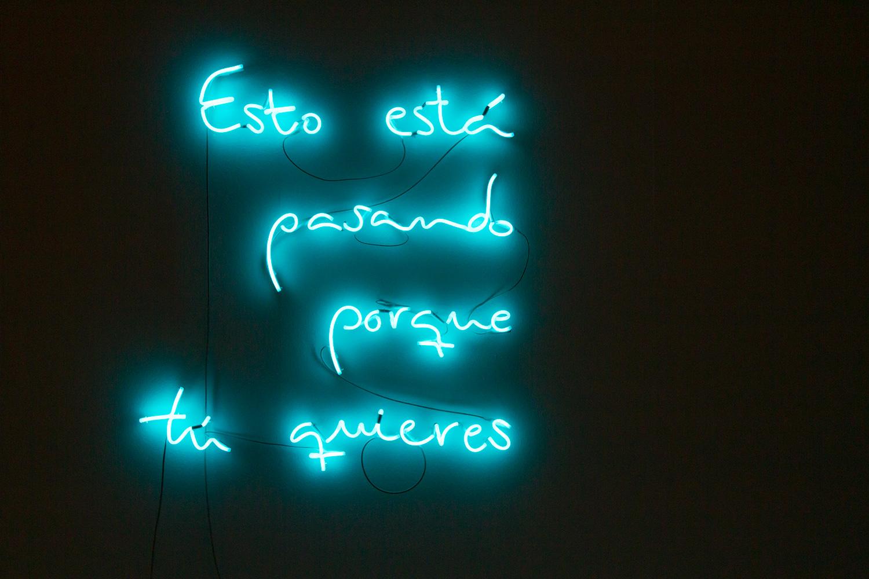 Esto está pasando porque tú quieres  Exposición Sala Juana Francés  Raquel Muñoz - Montse Carreño